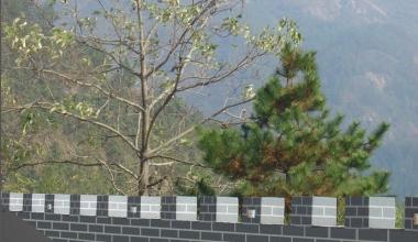 安全城垛式护栏