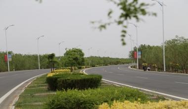 沿黄一级公路西端起点至九庄路段加宽工程